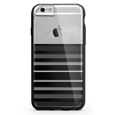 X-Doria Scene Plus Case for iPhone 6 Plus, Black Stripes