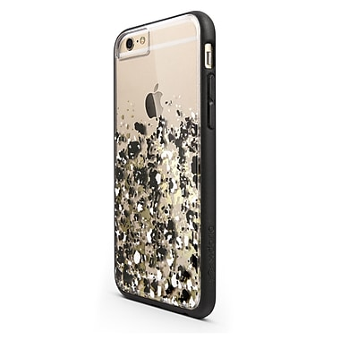 X-Doria Scene Plus Case for iPhone 6, Gold Digital Dust