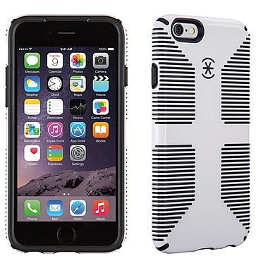 Speck CandyShell Grip iPhone 6 Case, White/Black