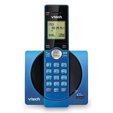 Vtech CS6919-15 Cordless Phone with Caller ID/Call Waiting, Blue