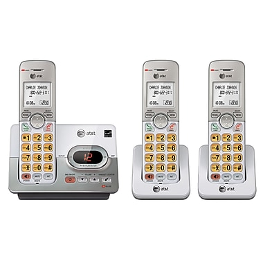AT&T EL52303 3-Handset Cordless Phone with Digital Answering System