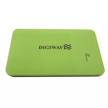 Digiwave – Chargeur portable intelligent de 9000 mAh (0,4 x 5 x 3 po), vert