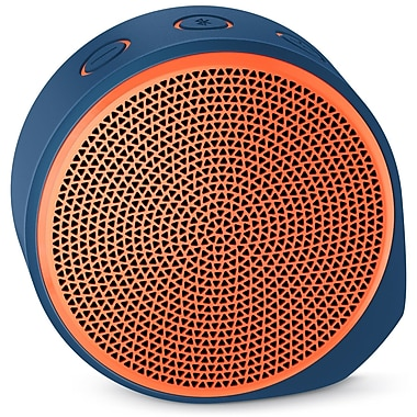 Logitech X100 Mobile Wireless Speaker, Orange