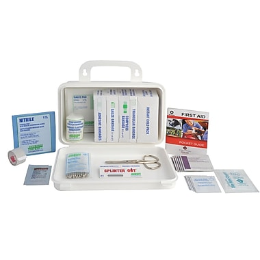 Crownhill Ontario First Aid Kit for Truck, Plastic Box
