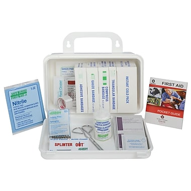 Crownhill Saskatchewan First Aid Kit for Truck, Plastic box