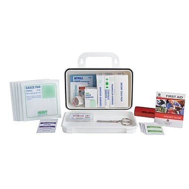 Crownhill Alberta First Aid Kit for Truck, Plastic box with Gasket