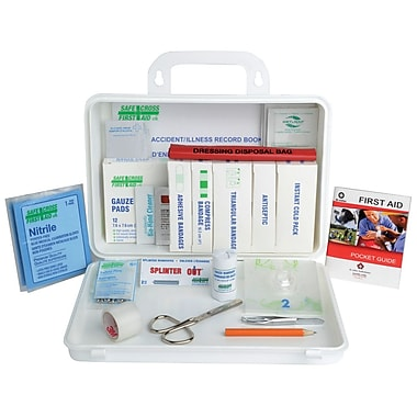 Crownhill Nova Scotia First Aid Kit for Truck, Plastic box