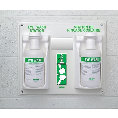 Crownhill Eye Wash Station with 2 x 1 L Eye Wash
