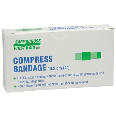 Crownhill Compress Bandage, 10.2 x 10.2cm (4