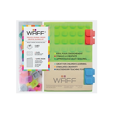 WAFF Book Medium Notebook and Cubes Combo, 4