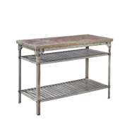 Home Styles Urban Style Prep Table with Concrete Top
