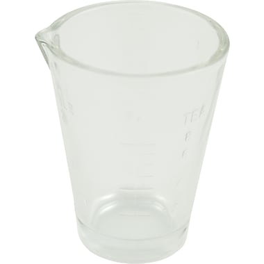 Graham Field Glass Medicine Cup 1oz Graduated, 144/Case