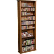 Venture Horizon VHZ Entertainment Large Single Multimedia Storage Rack; Dark Walnut