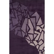 Momeni New Wave Purple Area Rug; 7'6'' x 9'6''
