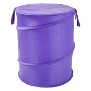 Redmon The Original Bongo Bag Pop Up Hamper; Purple