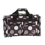 Rockland 19'' Carry-On Duffel; New Black Dot