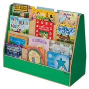 Wood Designs Double Sided Book Display; Green Apple