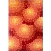 Momeni New Wave Red Area Rug; 7'6'' x 9'6''