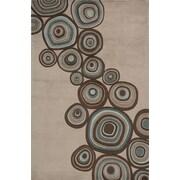 Momeni New Wave Mushroom Area Rug; Round 5'9''