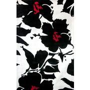nuLOOM Pop Amore Black & White Area Rug; 7'6'' x 9'6''