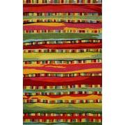 Liora Manne Seville Mosaic Stripe Fiesta Rug; 7'10'' x 9'10''