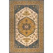 Momeni Persian Garden Teal Blue/Orange Area Rug; 8' x 10'
