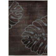 Nourison Expressions Brown Area Rug; 3'6'' x 5'6''