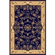 Rugs America New Vision Navy Souvanerie Area Rug; 5'3'' x 7'10''