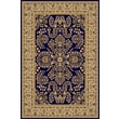 Rugs America New Vision Navy Lilihan Area Rug; Round 5'3''