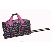 Rockland 22'' Travel Duffel with Shoulder Strap; Butterfly - On Sale