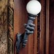 Design Toscano Blackfriar's Gate Wall Torchiere Lamp; 1