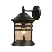 Landmark Lighting Madison 1 Light Wall Lantern; 18'' H x 11'' W x 12'' D