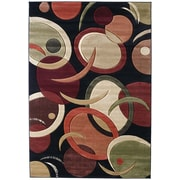 United Weavers of America Contours Tango Onyx Rug; 1'10'' x 3'