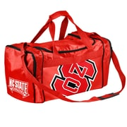 Forever Collectibles NCAA 21'' Travel Duffel; North Carolina State Wolfpack