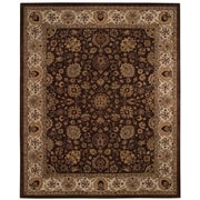 Capel Forest Park Medallions Dark Coffee Area Rug; 2' x 3'