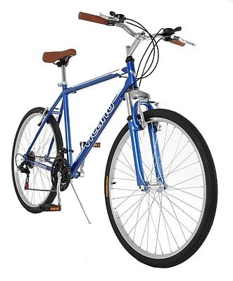 Vilano Men's Comfort Shimano Hybrid Bike; 18''