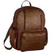 David King Laptop Backpack; Caf  / Dark Brown