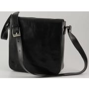 Alberto Bellucci Verona Messenger Bag; Black