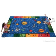 Carpets for Kids Printed Milky Play Literacy Area Rug; 4'5'' x 5'10''