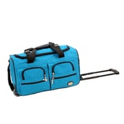 Rockland 22'' Travel Duffel with Shoulder Strap; Turquoise