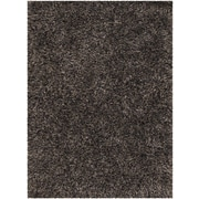 Chandra Tulip Black Area Rug; 5' x 7'6''