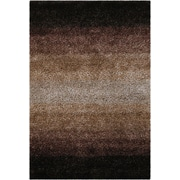 Chandra Sani Brown Area Rug; Round 7'9''