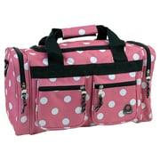 Rockland 19'' Carry-On Duffel; Pink Dot