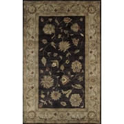 Dynamic Rugs Charisma Eggplant / Ivory Roberts Area Rug; Runner 2'4'' x 8'