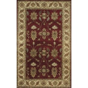 Dynamic Rugs Charisma Parson Red / Ivory Area Rug; Runner 2'4'' x 8'