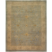 AMER Rugs Sivas Design Light Blue Hand-Knotted Area Rug; 2' x 3'