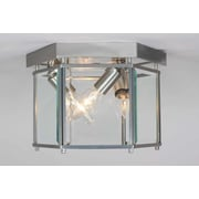 Volume Lighting 3 Light Ceiling Fixture Flush Mount