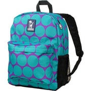 Wildkin Big Dots Crackerjack Backpack; Aqua