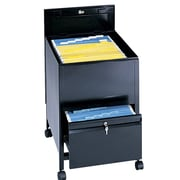 Safco Products Extra-Deep Locking Legal Tub File; Black