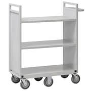Buddy Products 6 Wheel Flat Utility Cart
